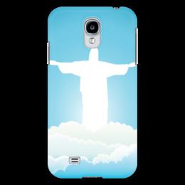 """Чехол для Samsung Galaxy S4 """"Иисус Христос"""" - вера, религия, иисус, бог, божество"""