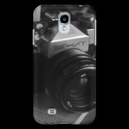 "Чехол для Samsung Galaxy S4 ""Фотоаппарат"" - зенит, ретро, черно-белый, фотоаппарат, camera, zenit"