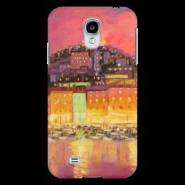 "Чехол для Samsung Galaxy S4 ""Огни ночного города"" - море, город, city, sea, lights"