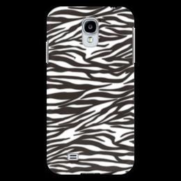 """Чехол для Samsung Galaxy S4 """"Зебра"""" - узор, стиль, зебра, рисунок, звериный"""