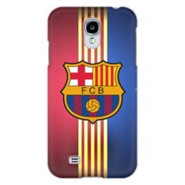 "Чехол для Samsung Galaxy S4 ""Барселона на Samsung Galaxy S4"" - спорт, футбол, барселона"
