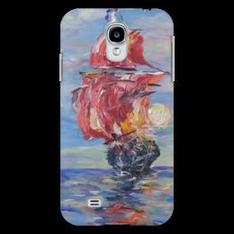 "Чехол для Samsung Galaxy S4 ""Мечты"" - море, красота, небо, корабль, фрегат"