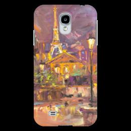 "Чехол для Samsung Galaxy S4 ""Париж"" - париж, paris, эйфелева башня, меценатова валерия"