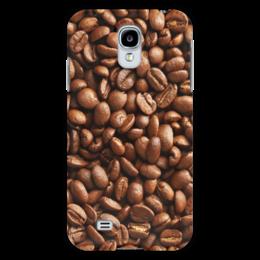 """Чехол для Samsung Galaxy S4 """"Кофейные зерна"""" - кофе"""
