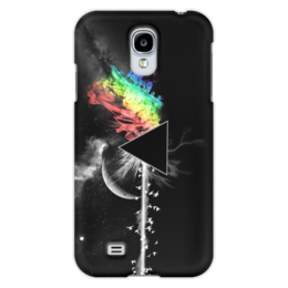 "Чехол для Samsung Galaxy S4 ""Pink Floyd"" - тёмная сторона луны, dark side of the moon, pink floyd, progressive rock"