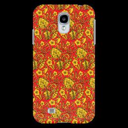 "Чехол для Samsung Galaxy S4 ""Хохлома"" - хохлома, орнамент, матрешка, russia, россия"