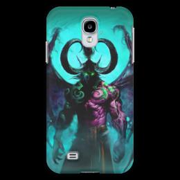 "Чехол для Samsung Galaxy S4 ""WarCraft Collection: illidan"" - wow, warcraft, world of warcraft, варкрафт, иллидан"