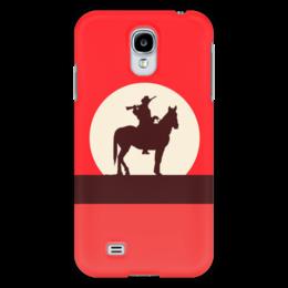 """Чехол для Samsung Galaxy S4 """"Ковбой"""" - кино, ковбой, дикий запад, вестерн"""