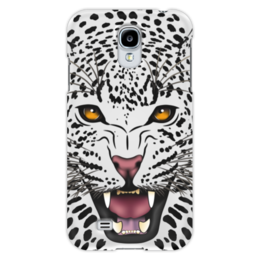 """Чехол для Samsung Galaxy S4 """"Леопард"""" - животные, рисунок, коты, леопард, хищники"""