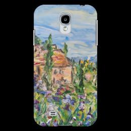 "Чехол для Samsung Galaxy S4 ""Тоскана"" - италия, горы, юг, кипарис, тоскана"