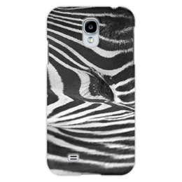 "Чехол для Samsung Galaxy S4 ""Зебра"" - глаз, зебра, природа, животное, текстура"