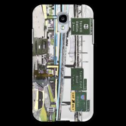 """Чехол для Samsung Galaxy S4 """"Американский хайвей"""" - сша, путешествия, шоссе, дороги, хайвеи"""