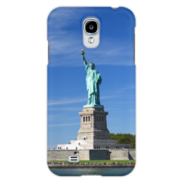 """Чехол для Samsung Galaxy S4 """"Статуя Свободы"""" - нью-йорк, америка, статуя свободы"""