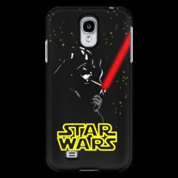 "Чехол для Samsung Galaxy S4 ""Darth Vader smokes!!!"" - star wars, darth vader, дарт вейдер, звёздные войны, лазерный меч"