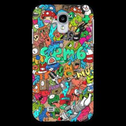"""Чехол для Samsung Galaxy S4 """"Doodle: Sem6"""" - монстры, doodle, каракули"""