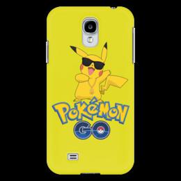 "Чехол для Samsung Galaxy S4 ""Pokemon GO"" - игра, покемон, пикачу, доллар, pikachu"