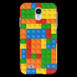 """Чехол для Samsung Galaxy S4 """"Конструктор Лего"""" - рисунок, детский, игрушка, конструктор, лего"""