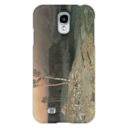 "Чехол для Samsung Galaxy S4 ""На острове Валааме (картина Архипа Куинджи)"" - картина, архип куинджи"