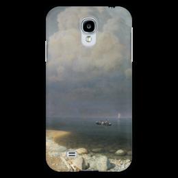 "Чехол для Samsung Galaxy S4 ""Ладожское озеро (картина Архипа Куинджи)"" - картина, архип куинджи"