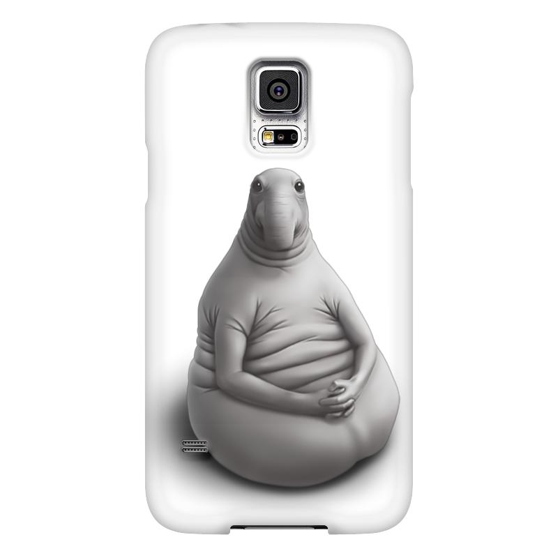 Чехол для Samsung Galaxy S5 Printio Ждун я тут что-то нажала чехол для samsung galaxy s5 printio череп художник