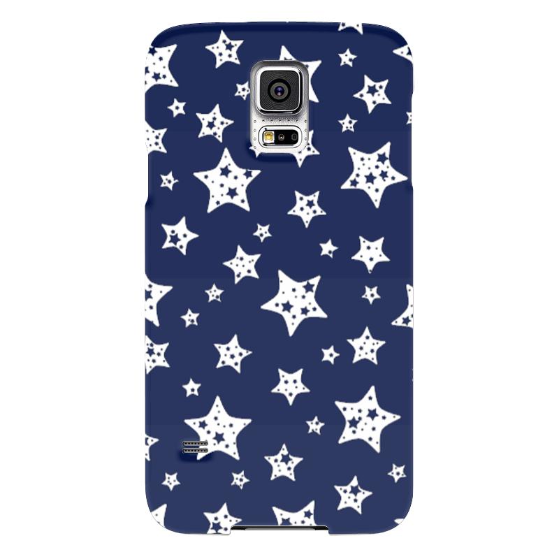 Чехол для Samsung Galaxy S5 Printio Звёзды чехол для карточек пионы на синем фоне дк2017 113