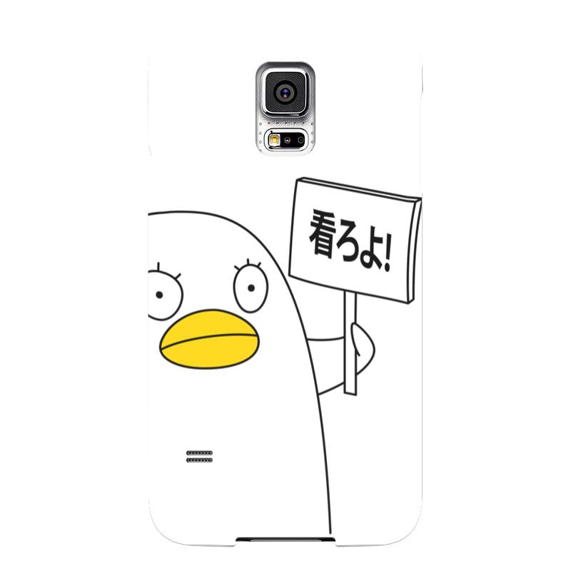 Чехол для Samsung Galaxy S5 Printio Гинтама. элизабет чехол для samsung galaxy s5 printio барселона на samsung galaxy s5