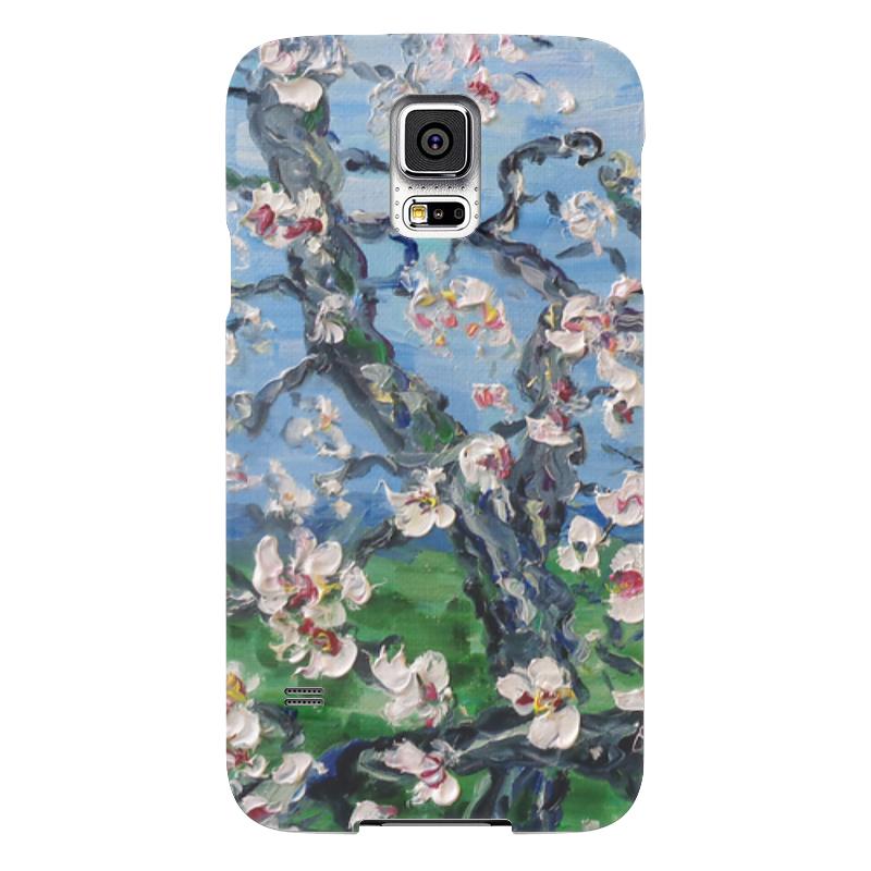 Чехол для Samsung Galaxy S5 Printio Сакура samsung g900h galaxy s5 16гб белый в омске