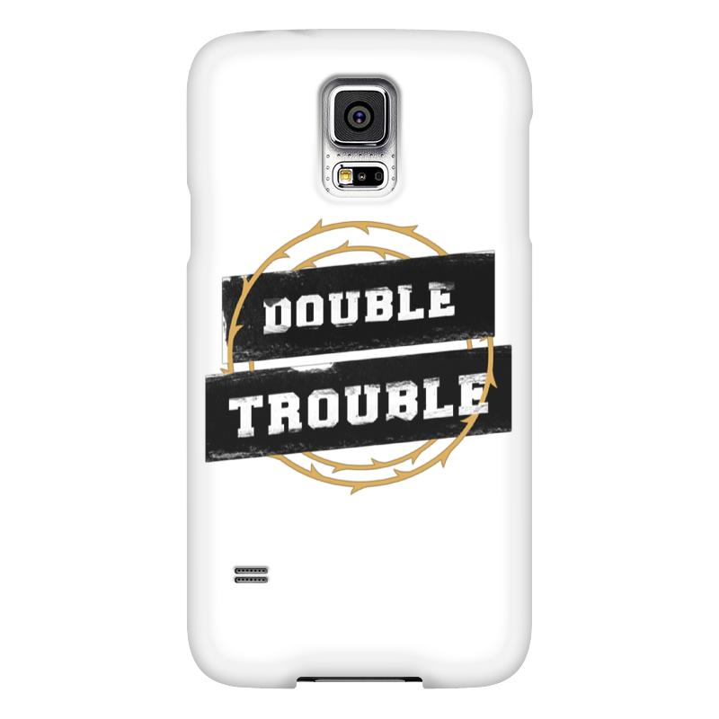 Чехол для Samsung Galaxy S5 Printio Double trouble чехол для samsung galaxy s5 printio череп художник