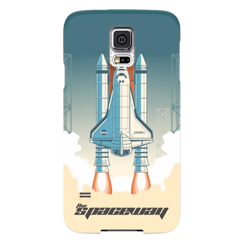 Чехол для Samsung Galaxy S5 Printio Покорение космоса чехол для samsung galaxy s5 printio череп художник