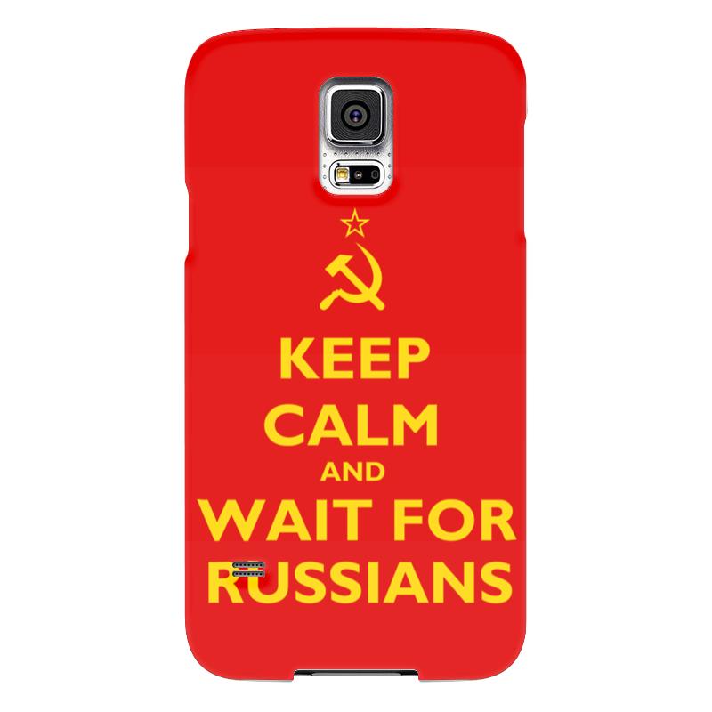 Чехол для Samsung Galaxy S5 Printio Keep calm and wait футболка wearcraft premium printio keep calm
