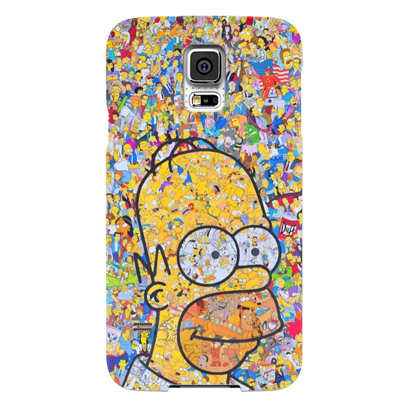 Чехол для Samsung Galaxy S5 Printio Симпсоны чехол для samsung galaxy s5 printio череп художник