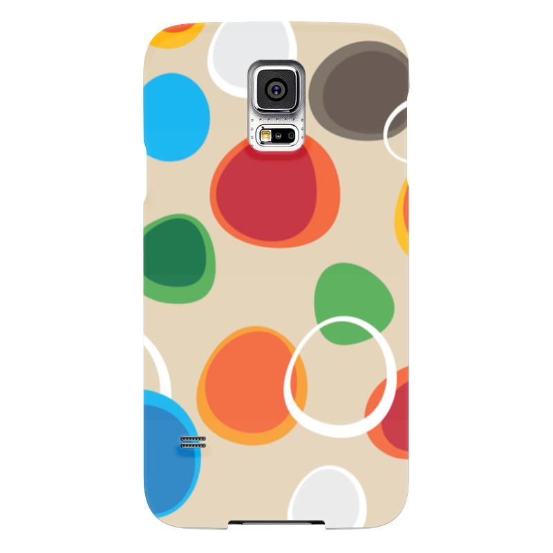 Чехол для Samsung Galaxy S5 Printio Цветная абстракция samsung g900h galaxy s5 16гб белый в омске