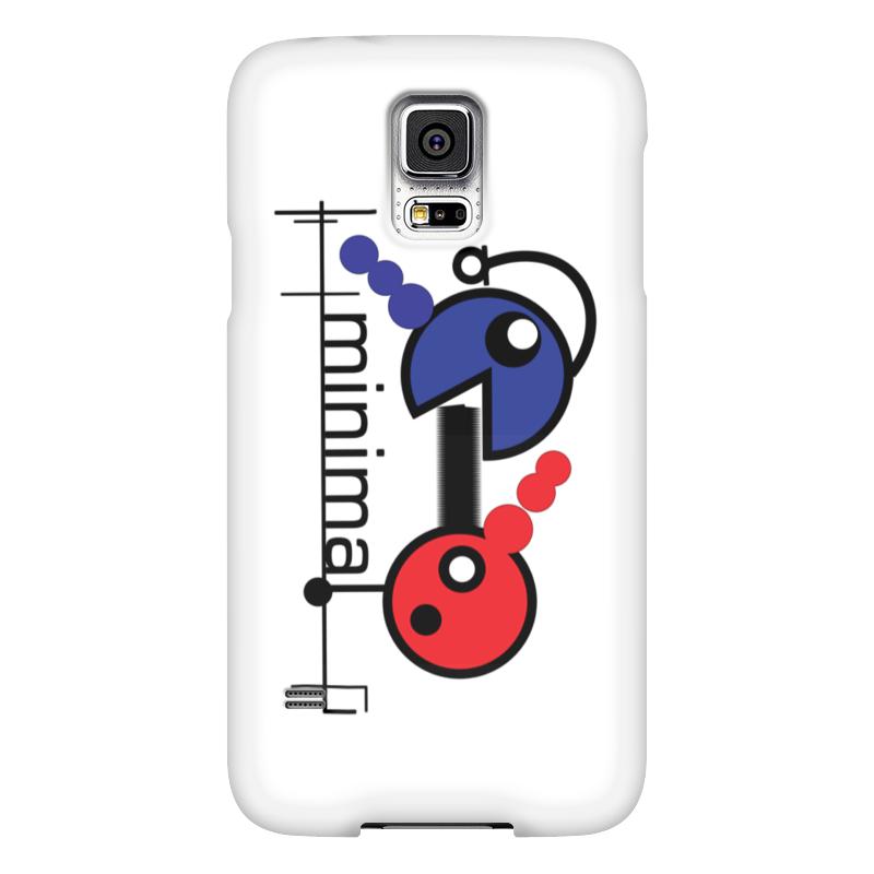 Чехол для Samsung Galaxy S5 Printio Минимал чехол для samsung galaxy s5 printio товарищеский матч