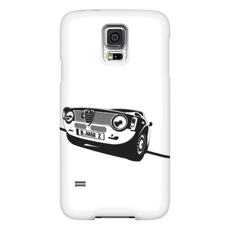 Чехол для Samsung Galaxy S5 Printio Retro alfa romeo racing наклейки tony 2 74 alfa romeo mito 147 156 159 166 giulietta gt