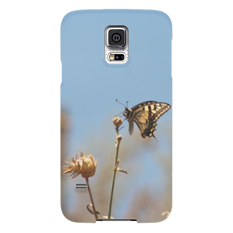Чехол для Samsung Galaxy S5 Printio Бабочка махаон чехол для samsung galaxy s5 printio череп художник