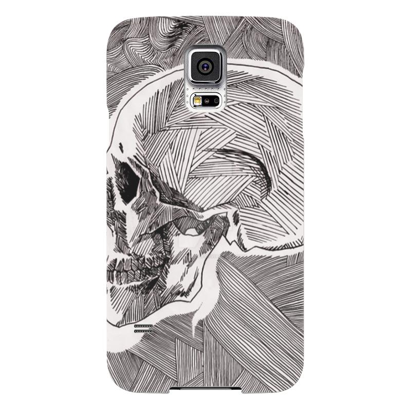 Чехол для Samsung Galaxy S5 Printio Череп чехол для samsung galaxy s5 printio череп