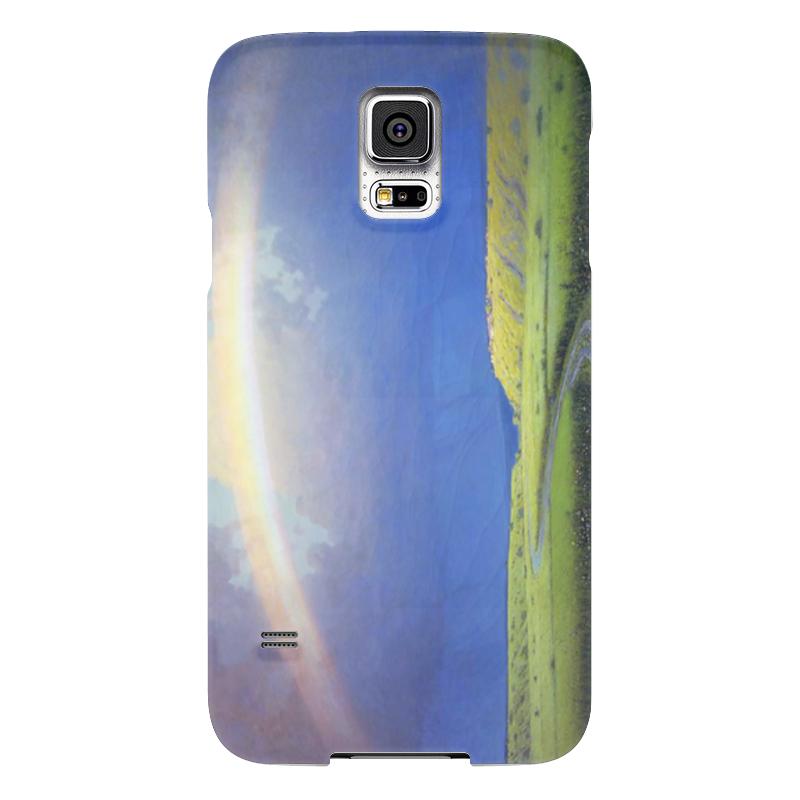 Чехол для Samsung Galaxy S5 Printio Радуга (картина архипа куинджи) чехол для samsung galaxy s5 printio череп художник