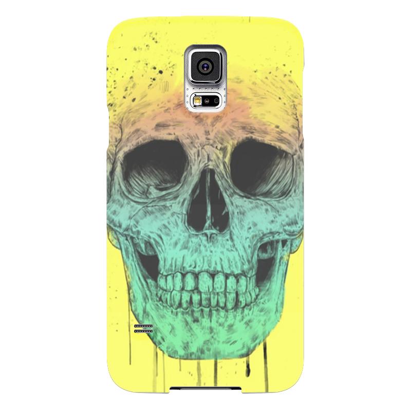 Чехол для Samsung Galaxy S5 Printio Череп чехол для samsung galaxy s5 printio skull