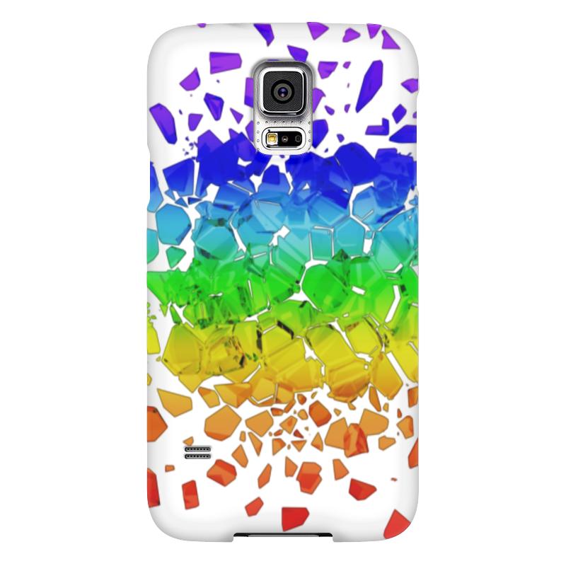 Чехол для Samsung Galaxy S5 Printio Broken rainbow чехол для samsung galaxy s5 printio череп художник