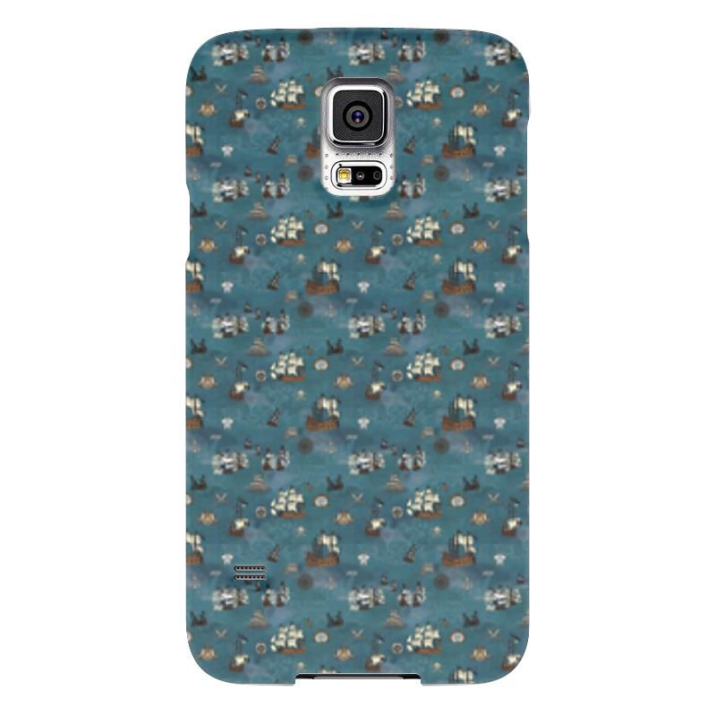Чехол для Samsung Galaxy S5 Printio Корабли чехол для samsung galaxy s5 printio samurai cat