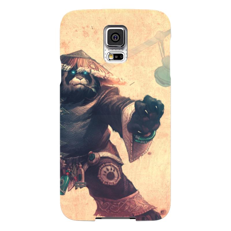 Чехол для Samsung Galaxy S5 Printio Warcraft collection: panda чехол для samsung galaxy s5 printio череп художник