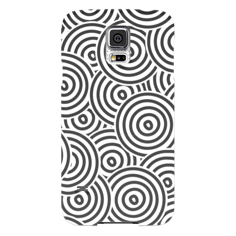 Чехол для Samsung Galaxy S5 Printio Радиальный