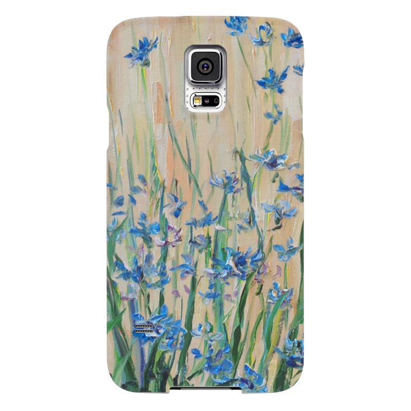 Чехол для Samsung Galaxy S5 Printio Васильки чехол для samsung galaxy s5 printio череп художник
