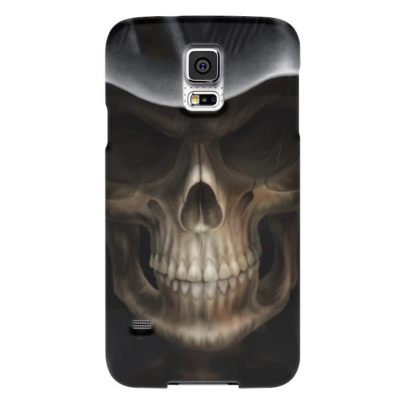 Чехол для Samsung Galaxy S5 Printio Череп в капюшоне чехол для samsung galaxy s5 printio череп художник