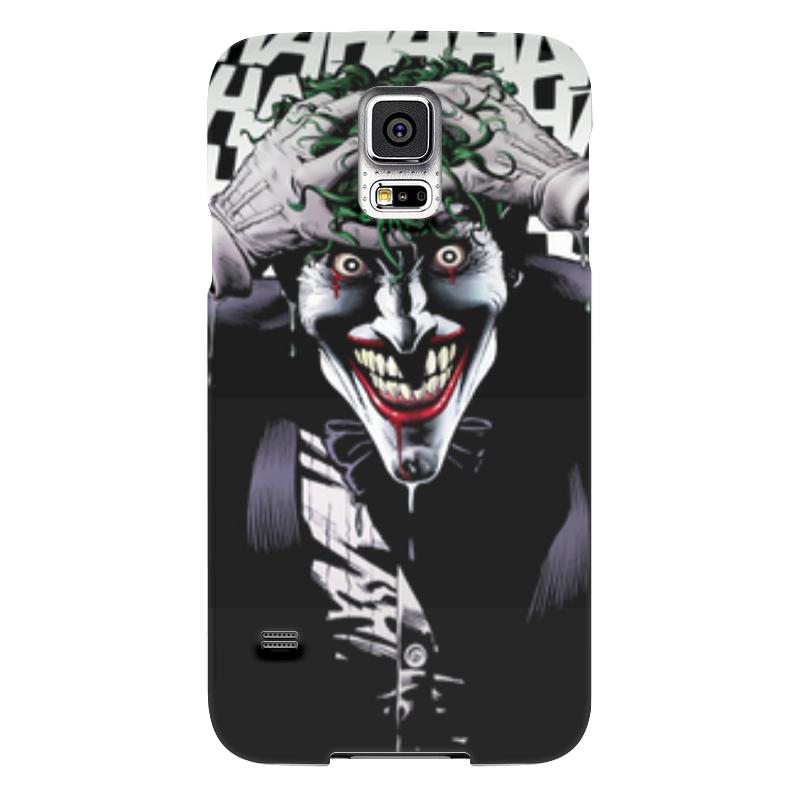 Чехол для Samsung Galaxy S5 Printio Сумасшедший джокер чехол для samsung galaxy s5 printio skull