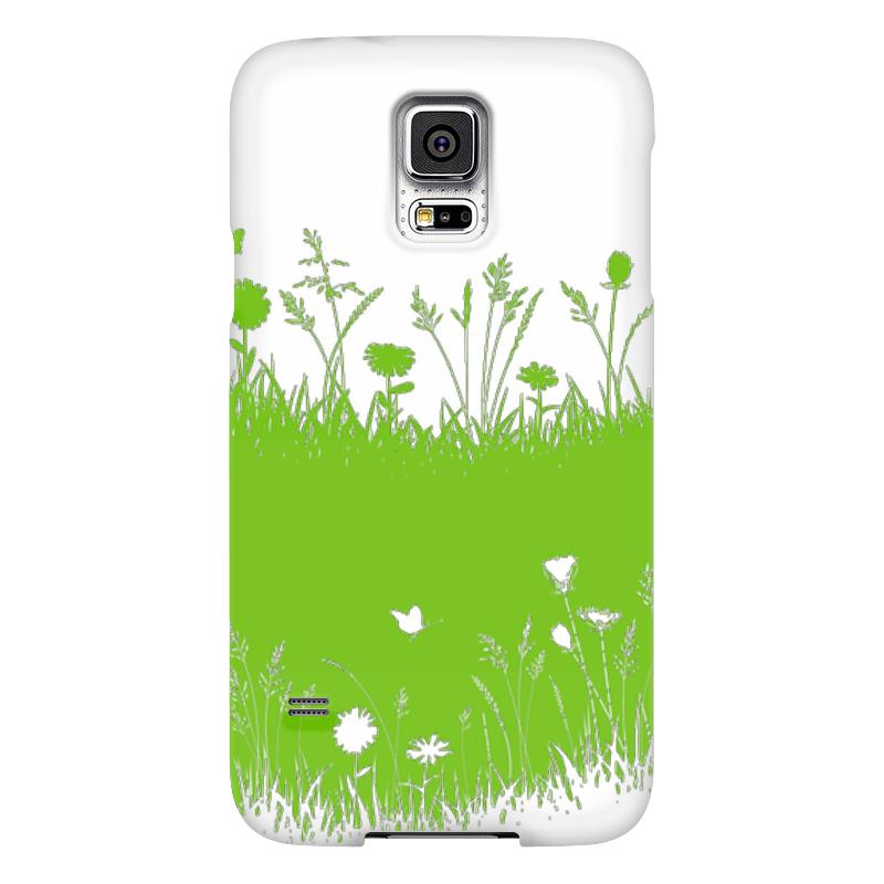 Чехол для Samsung Galaxy S5 Printio Летняя трава чехол для samsung galaxy s5 printio композиция в сером