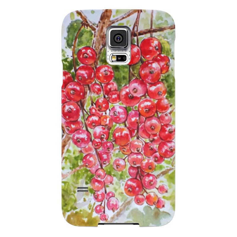 Чехол для Samsung Galaxy S5 Printio Красная смородина смородина красная каскад
