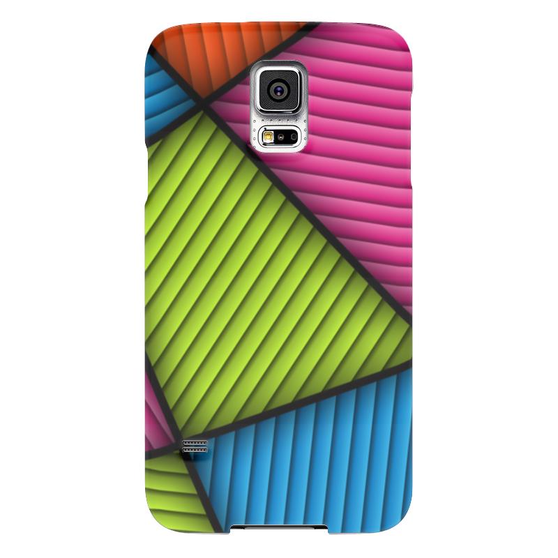 Чехол для Samsung Galaxy S5 Printio Цветная абстракция чехол для samsung galaxy s5 printio череп