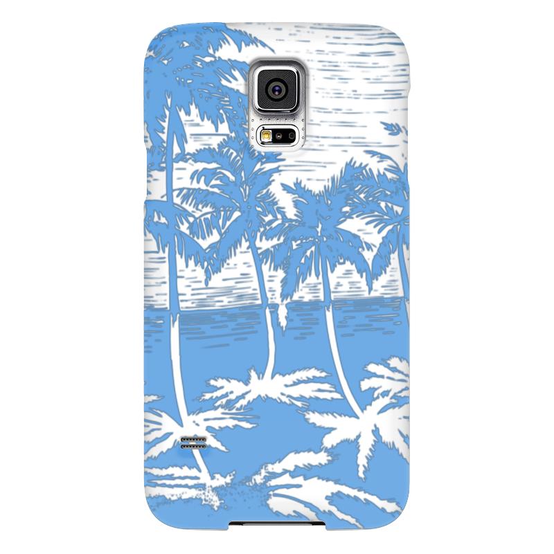 Чехол для Samsung Galaxy S5 Printio Пальмы чехол для samsung galaxy s5 printio композиция в сером