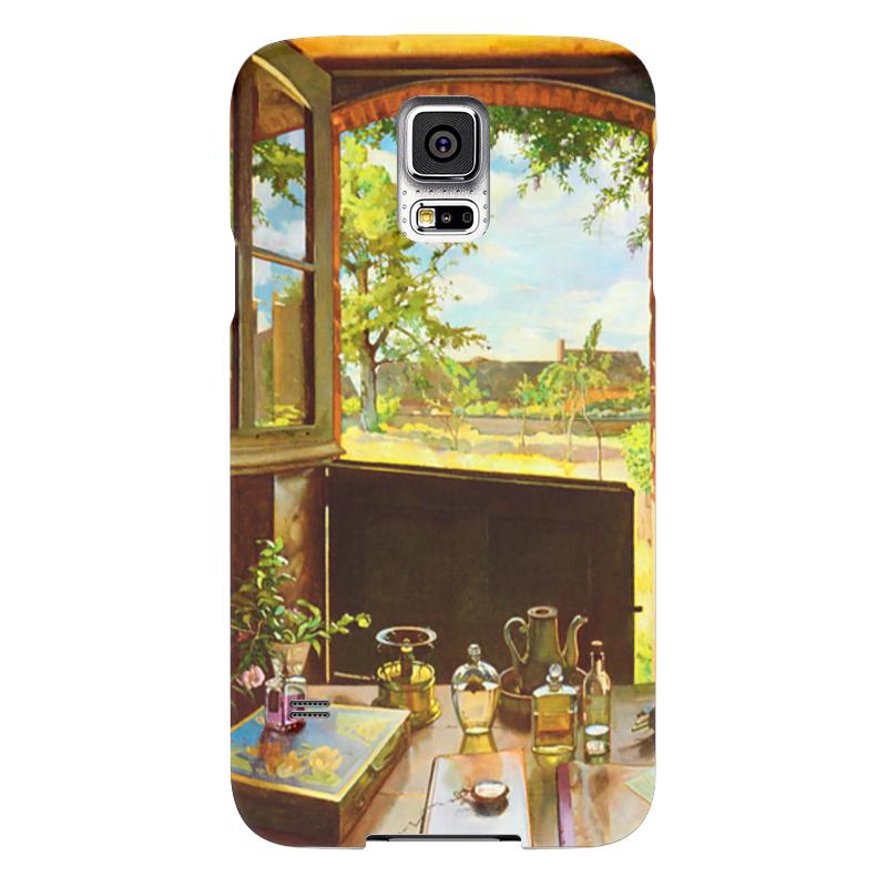 Чехол для Samsung Galaxy S5 Printio Открытая дверь в сад чехол для samsung galaxy s5 printio череп художник